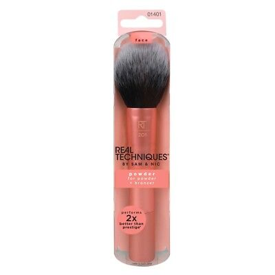 REAL TECHNIQUES Makeup Powder Brush RT-1401 for Foundation, Bronzer, or Setting