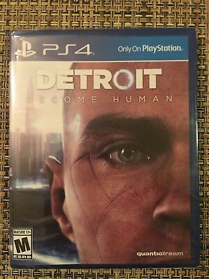 Brand New Factory Sealed! DETROIT: BECOME HUMAN (PS4, 2018) - just released!