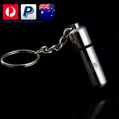 Cohiba Rounded Cigar Punch Cutter  | Keychain Keyring | Unboxed | Gift
