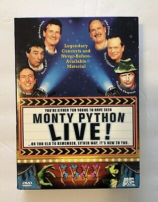 Monty Python Live! DVD - Volumes I and II, Two Disc Set - Fast Shipping!