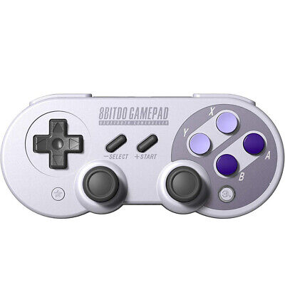 8Bitdo Sn30 Pro Sn Wireless Bluetooth Gampad Wire Vibration Game Controller C2T5