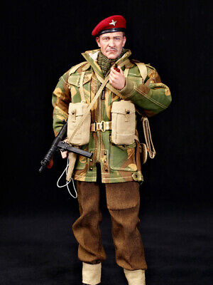 "In-Stock 1/6 Scale DID WWII British Airborne ""Red Devil"" K80135 12in Figure"