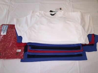 CLEARANCE Mens/Ladies Assorted Polyester T shirt lot x 21. AC9.