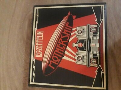 Led Zeppelin - Mothership 2Cd+Dvd 2007 Deluxe Issue Foldout Card Sleeve Vg