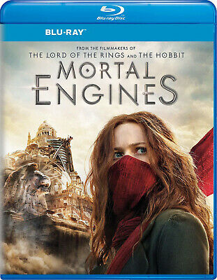 Mortal Engines Blu-ray disk only with Bonus Features and Free Shipping