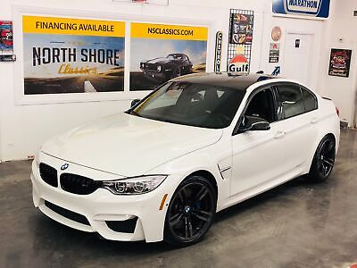 2015 M3 -NO HAGGLE BUY IT NOW PRICE-2 OWNER-CLEAN CARFAX-T Alpine White BMW M3 with 48,700 Miles available now!