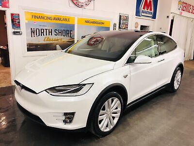 2016 Model X P90D-AWD-1 OWNER-ONLY 25K MILES-CLEAN CARFAX- Pearl White Multi-Coat Tesla Model X with 25,464 Miles available now!