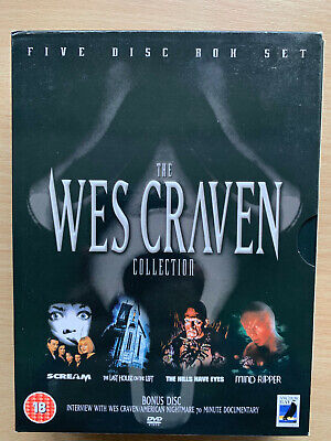 The Wes Craven Collection DVD Horror Classici Ancora Bay UK 5-dischi Cofanetto