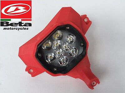 """BETA 300 RR Led Headlight """"RED"""" (and others Beta enduro models) Front Light"""