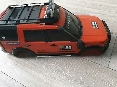1/10 rc land rover discovery G4 challenge body shell,  rock crawler  RC
