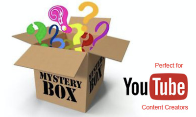 Mystery Box Electronics, DVD, Bluray??? YouTube Worthy