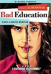 Bad Education (DVD, 2005, R-Rated Version) Very Good With Free Shipping