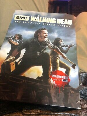 The Walking Dead: The Complete Eighth 8 Season DVD, 2018 New & Sealed Free Ship!