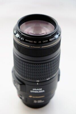 Canon EF 70-300mm F/4-5.6 IS USM Lens in Mint Condition