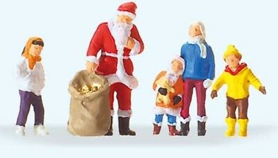 Preiser 1/87 HO Father Christmas Pantsless Santa Figure 29099 Onderdelen en decor