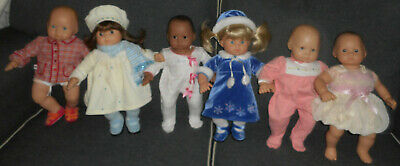 LOT American Girl TWIN Bitty Baby Doll Blond Brunette CLOTHES Winter Wonderland