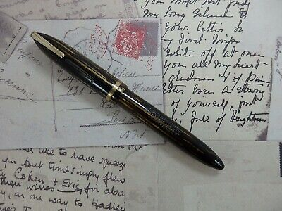Stylo plume SHEAFFER Balance 500 - Clip Militaire - Plume Or 14 K (fountain pen)