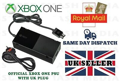 Official Genuine Xbox One Power Supply Brick Psu Ac Adapter With Uk Plug - New