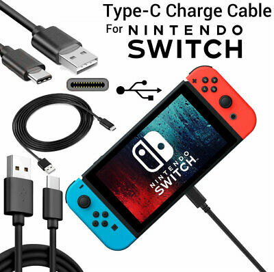 Nintendo Switch Charger Charging Lead Cable 2M Long Cable for Nintendo Switch