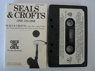 Seals & Crofts One On One Movie Soundtrack Ultra Rare Cassette Tape