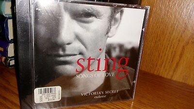 "Sting - ""Songs Of Love"" Victoria's Secret CD- still sealed!"