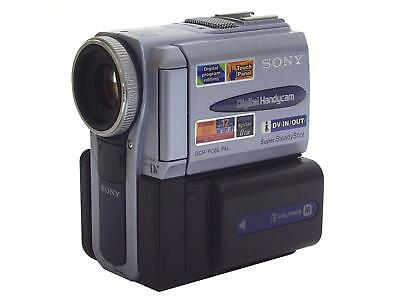 Sony Handycam DCR-PC8E MiniDV Camcorder - Digital Video Camera Recorder