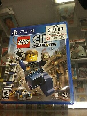 Lego City Undercover PlayStation 4 PS4 Complete CIB