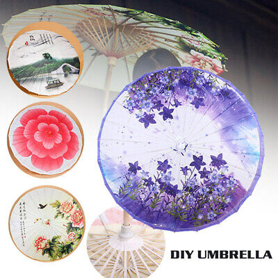 49D3 Diy Bridal Umbrella Bridal Home & Garden Handmade Wedding Umbrella