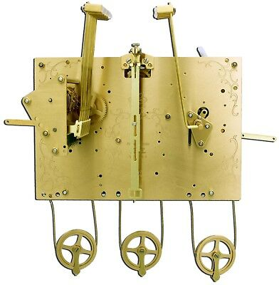 Hermle Grandfather Clock Movement 1171-850/114cm triple chimer ONLY for project