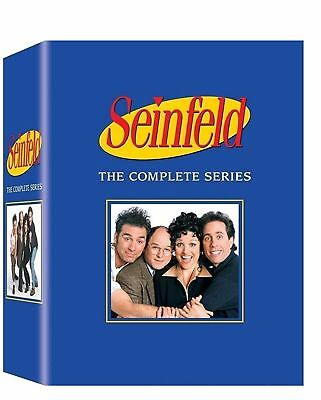 SEINFELD - THE COMPLETE SERIES BOX SET(DVD, 2013, 33-Disc Set, Audio Commentary)
