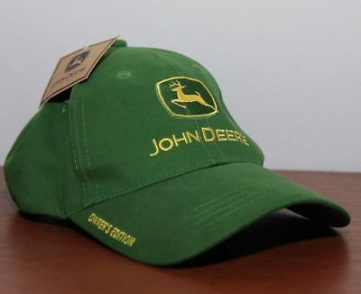 """/""""JOHN DEERE OWNERS ARE HAPPY/""""  HUGE 3/"""" PIN BACK BUTTON *REFRIGERATOR MAGNET*"""