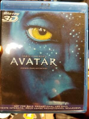 AVATAR Blu-Ray 3D Promo Only Issue - BILINGUAL EDITION, FRENCH + ENGLISH