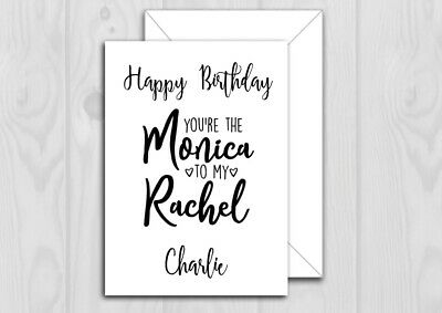 PERSONALISED SPACE PLANETS HAPPY BIRTHDAY Card  5X7 INCHES 218