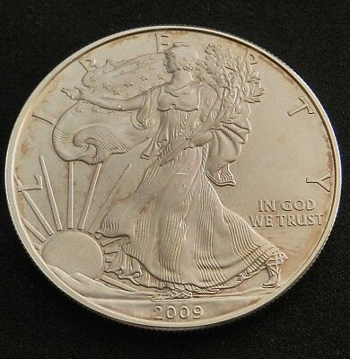 2009 United States Silver Eagle $1 Coin In Excellent Condition