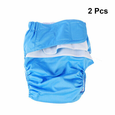 1/2x Adults Cloth Diaper Adjustable Washable Women Diapers Underwear for The Old