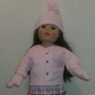 """18/"""" doll clothes-fit American Girl Boy  My Life-Coat Hat Fleece-Butterfly"""