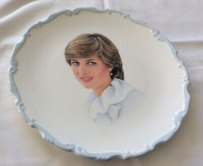 Royal Albert Plate - Featuring Diana - 1981 (Wedding To Charles)21 Cmdiam