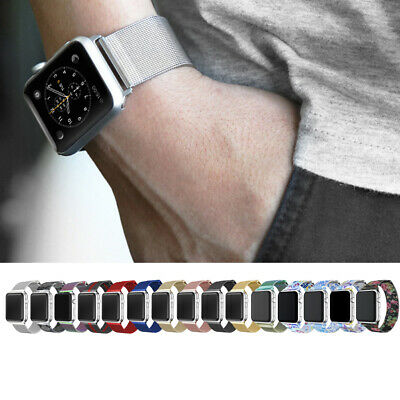 1X 2X Magnetic Milanese Loop iWatch Band Strap for Apple Watch 1/2/3/4 Sports
