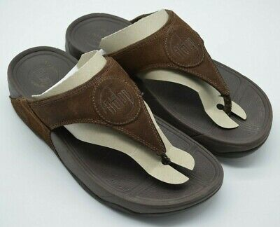 81fc8154b Lovely FitFlop Brown Suede Flip Flops Sandals. Size 5. Great Condition!