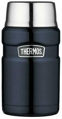 Thermos in Acciaio Inossidabile re Alimentare Flask - Midnight Blue (710 ml) - N