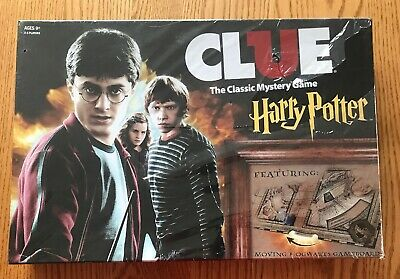USAopoly Harry Potter Clue * Board Game Mystery Sealed Hogwarts Wizard