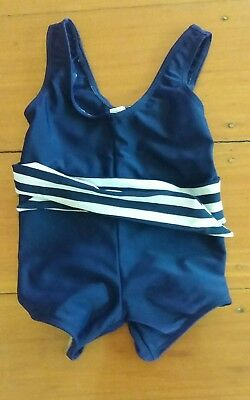 Baby Girls Swimmers Bathers Togs Size 1. Free postage.