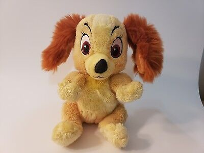 Disney Parks Disney Babies Lady and the Tramp Lady Plush Stuffed Animal 9""
