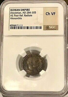 Ancient Roman Imperial Coin Diocletian Ae Post Reform Radiate To Enjoy High Reputation In The International Market