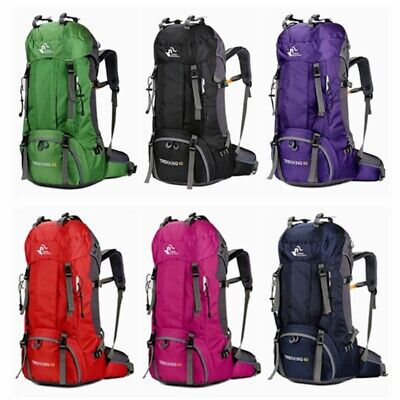 Free Knight 60L Camping Travel Rucksack Trekking Outdoor Backpack Hiking Bag