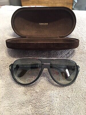 eeaaa191f TOM FORD SUNGLASSES Dimitry FT TF 0334 56K Havana Gold Frames Grey ...