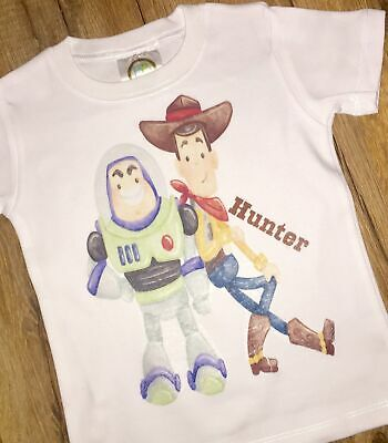 Toy Story Woody and Buzz inspired printed t-shirt