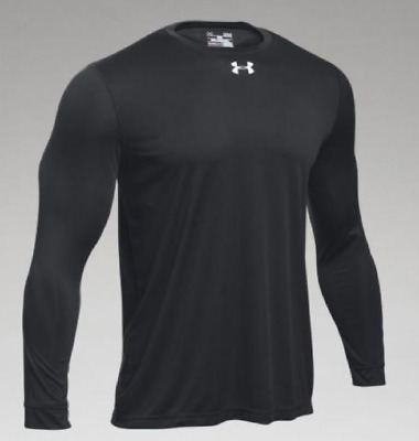 NWT Under Armour UA Heat Gear UPF 30 SS Red Navy Shirt Mens MD M Loose Fit NEW