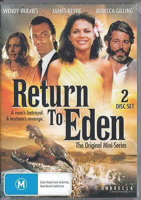 Return To Eden - Wendy Hughes - New & Sealed Region 4 Dvd Free Local Post