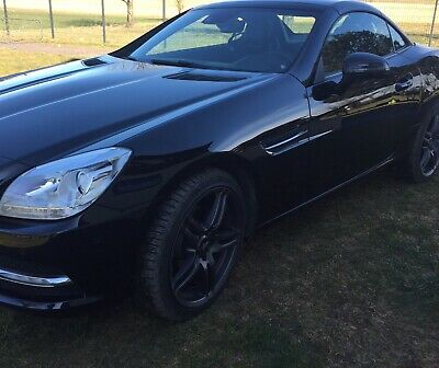 Mercedes Benz SLK R172 (SLK 200) Blue Efficiency Schwarz